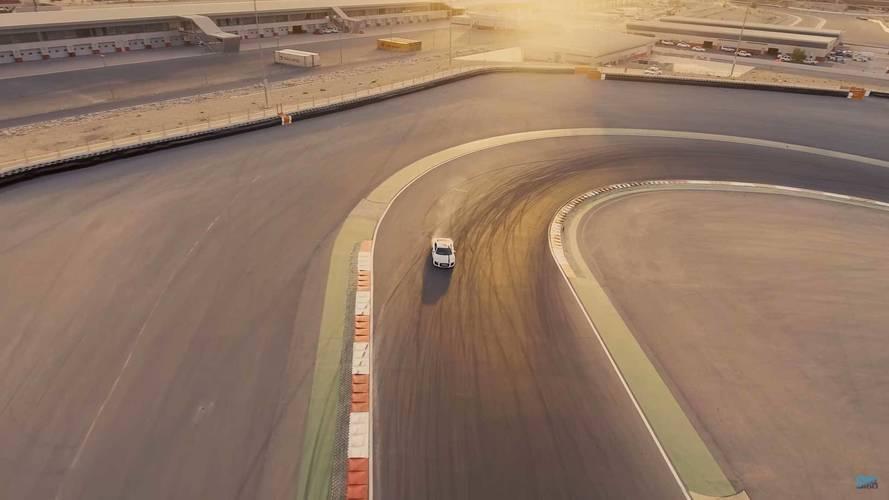 Audi R8 RWS - Dubai Autodrome