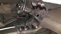 BMW X7 Interior Spied