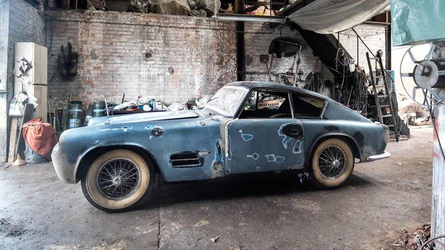 Barn Finds Still Exist: Michelotti Jaguar, Ferrari, And More