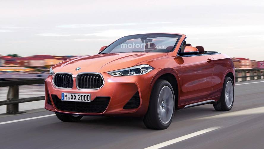 Let's Hope This BMW X2 Cabriolet Render Doesn't Become Reality