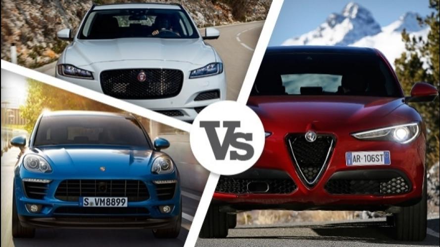 Alfa Romeo Stelvio 2.2 Diesel, tutte le rivali a gasolio