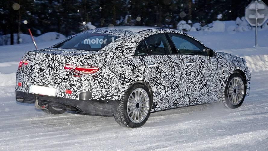 La nouvelle Mercedes-Benz CLA se promène