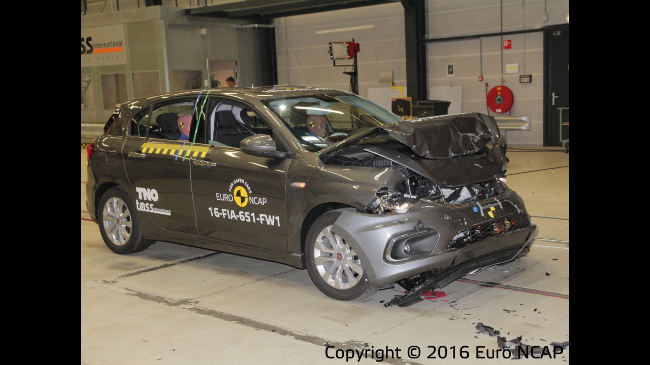 Nuova Fiat Tipo crash test 001