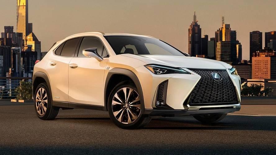 Fotón és videón is megmutatta UX típusú crossoverét a Lexus