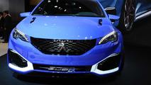 Peugeot 308 R Hybrid concept at Auto Shanghai 2015