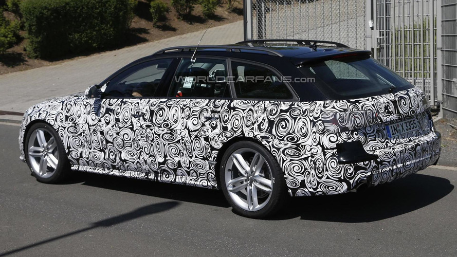 Audi A6 allroad quattro facelift spied hiding minor changes