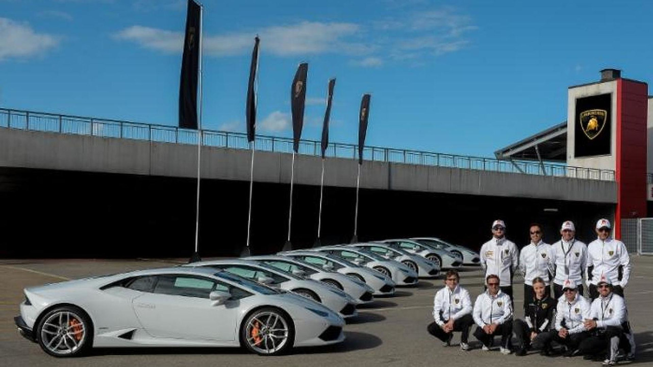 Lamborghini Accademia Instructors