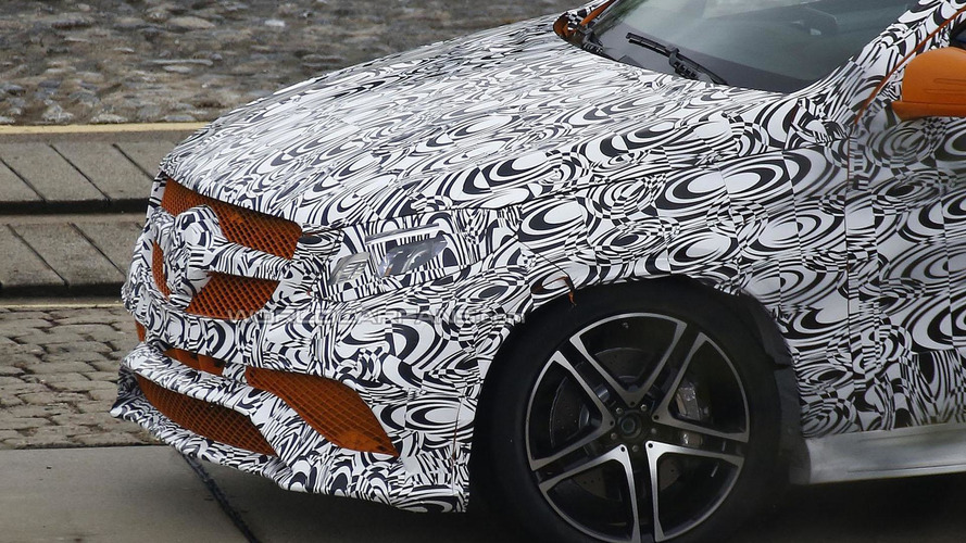 2016 Mercedes MLC 63 AMG spied showing new details