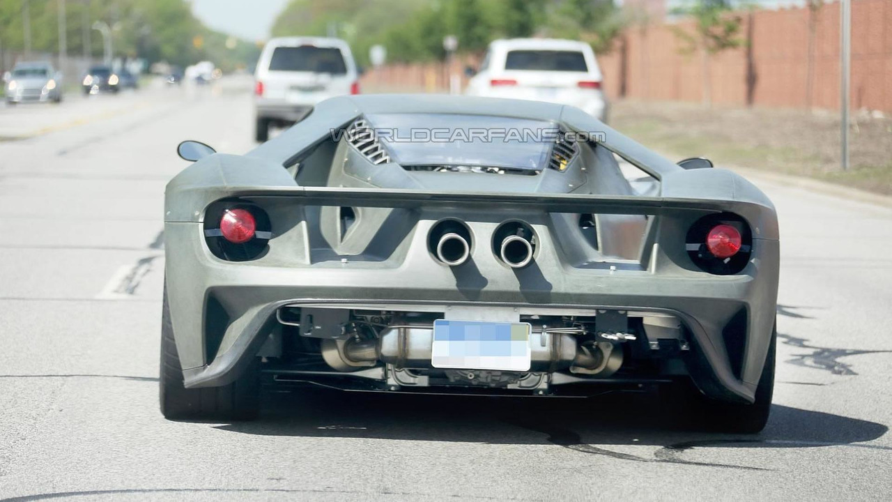 2017 Ford GT spy photo