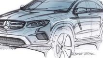2016 Mercedes-Benz GLC official design sketch