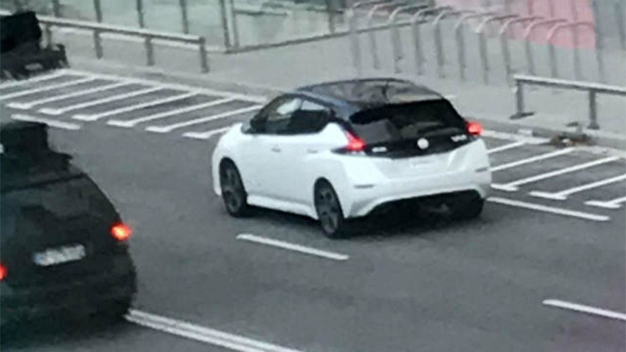 2018 Nissan Leaf Spied Without Camouflage In Europe