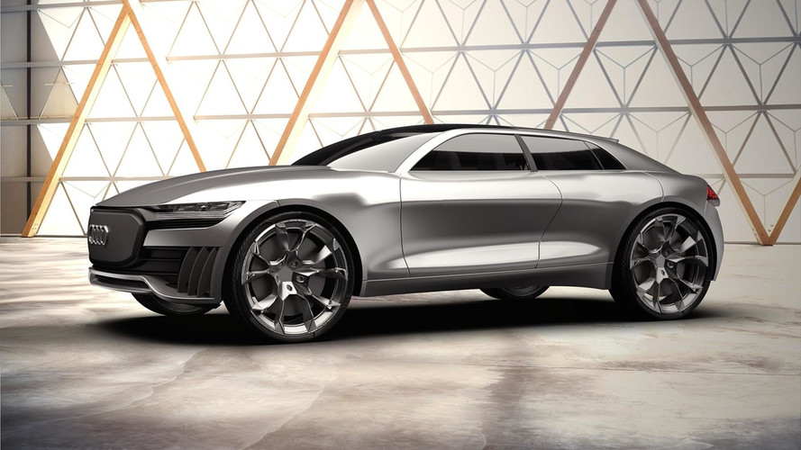 Audi Q4 E-Tron Concept Is An Interesting Electric SUV Proposal
