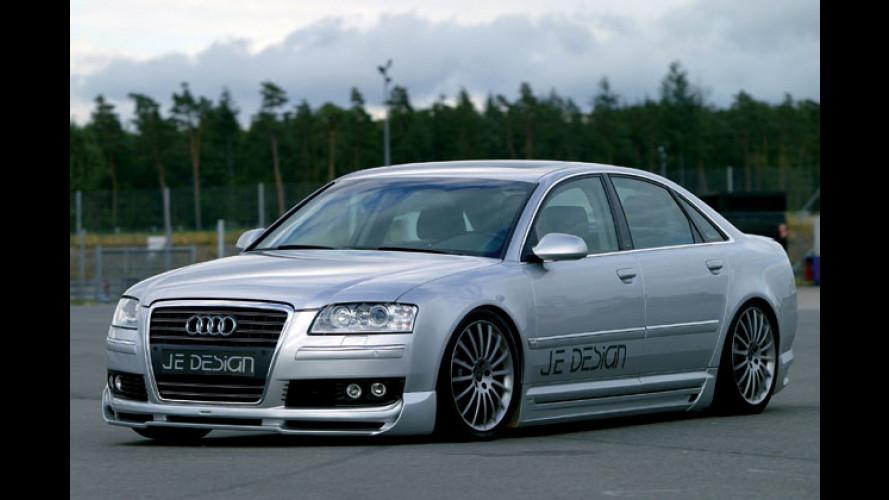 Audi A8-Tuning: Flaggschiff von 390-Diesel-PS befeuert