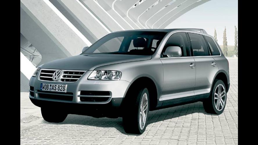 VW Touareg: Exklusive Leder- und-Ebenholz-Edition