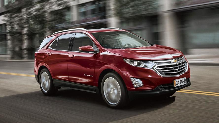 Chevrolet Equinox chega em outubro ao Brasil por R$ 149.900