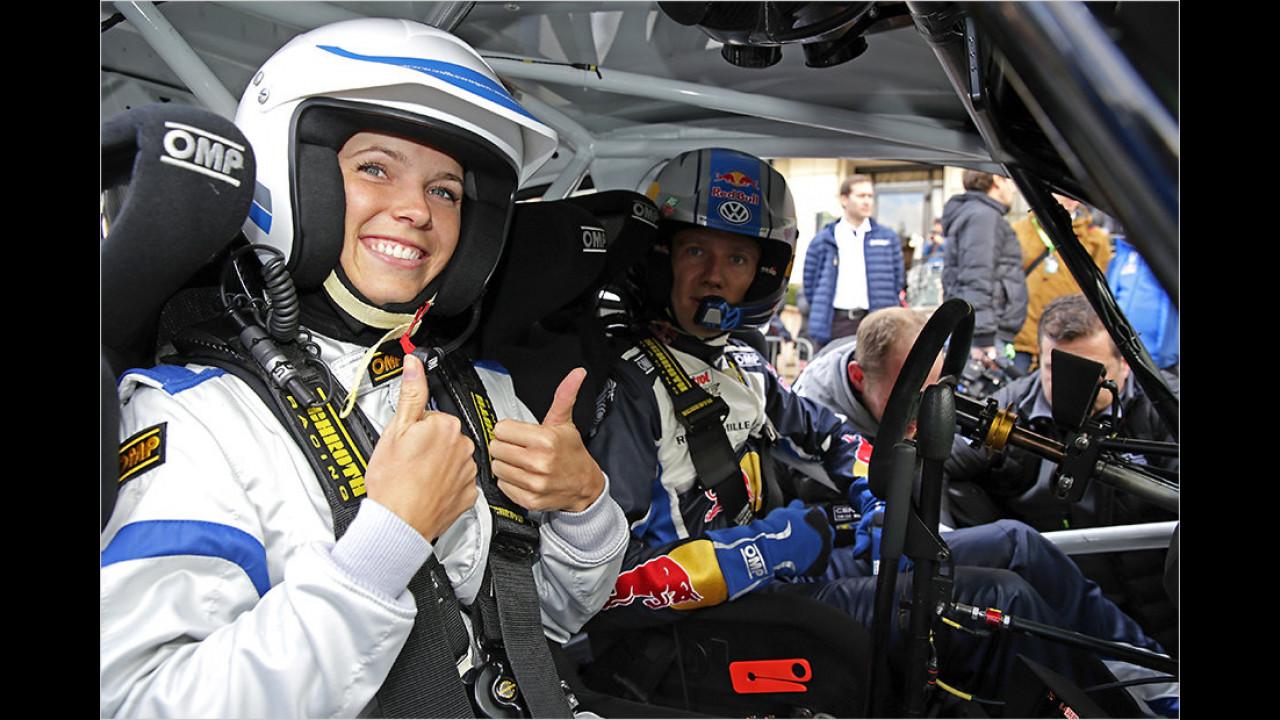 Caroline Wozniacki: VW Polo R WRC