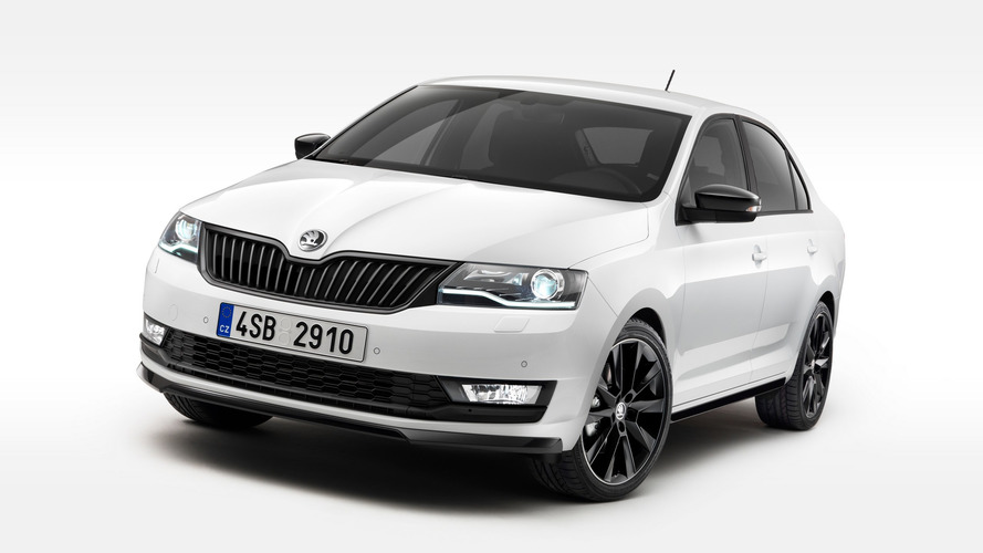 The Skoda Rapid has been given a facelift