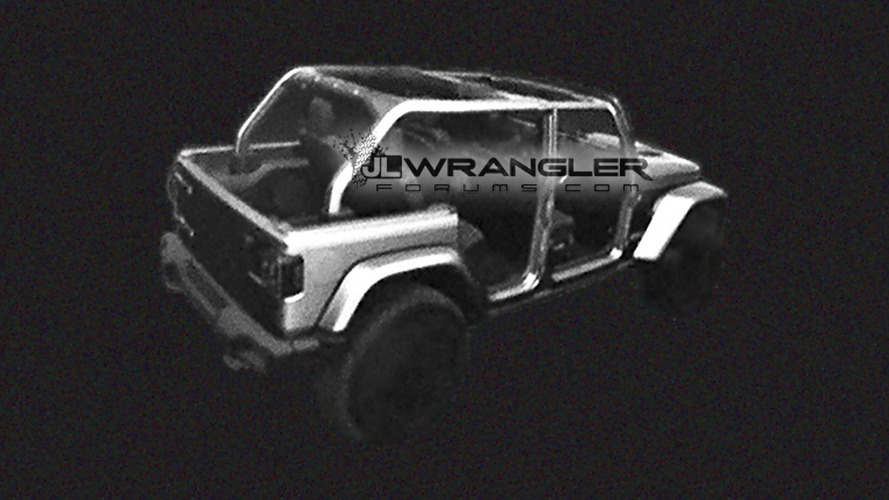 2018 Jeep Wrangler Unlimited Rubicon leaked images, renders