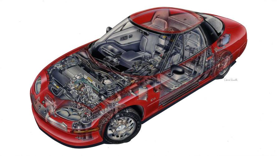 Teknik Çizim: GM EV1