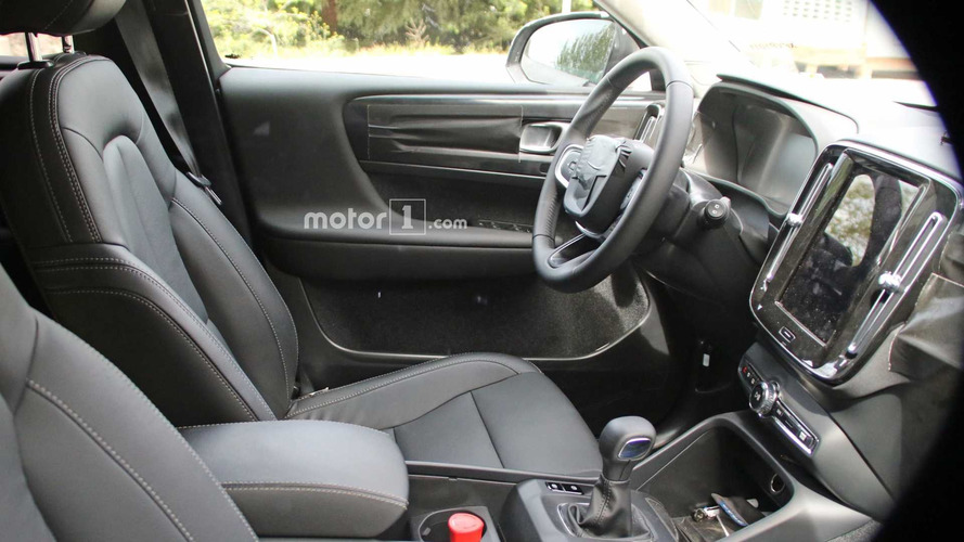 2018 Volvo XC40 New Spy Photos Fully Reveal The Interior