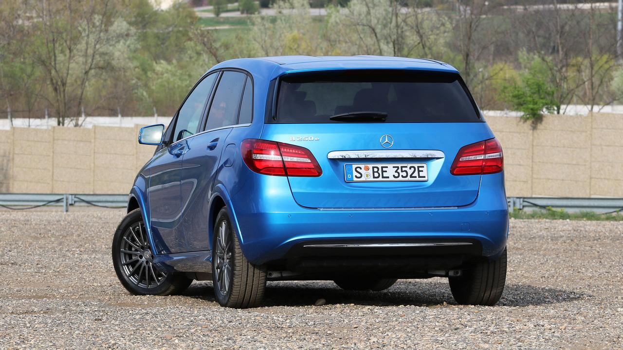 2017 mercedes benz b250e review photo for Mercedes benz b250e