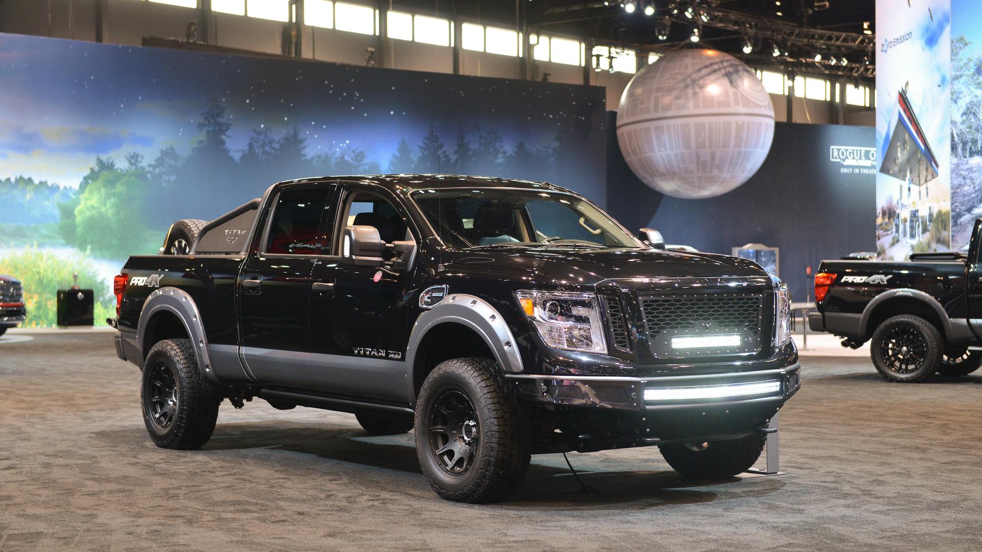 2017 Nissan Titan, Titan XD concepts show range of dealer ...