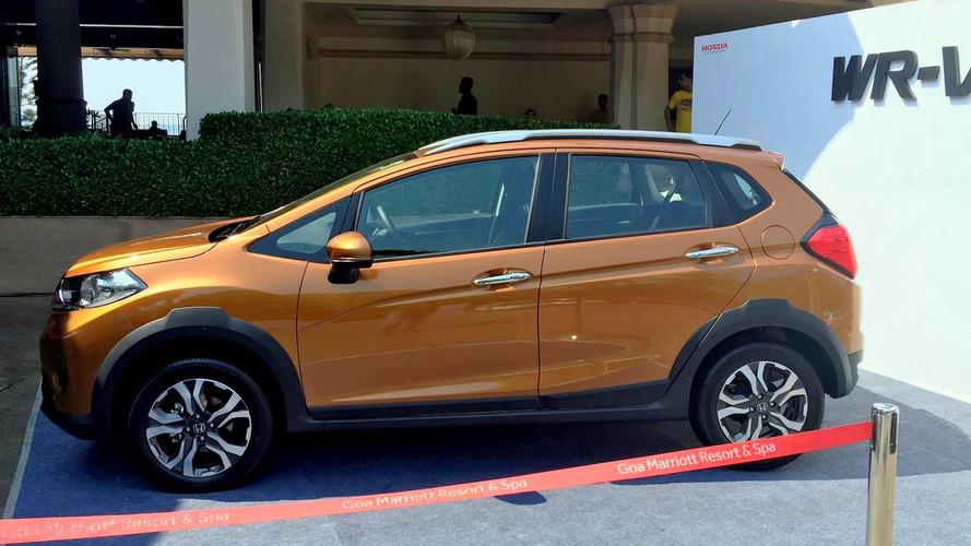 Flagra - Honda WR-V indiano será mais equipado que o modelo nacional