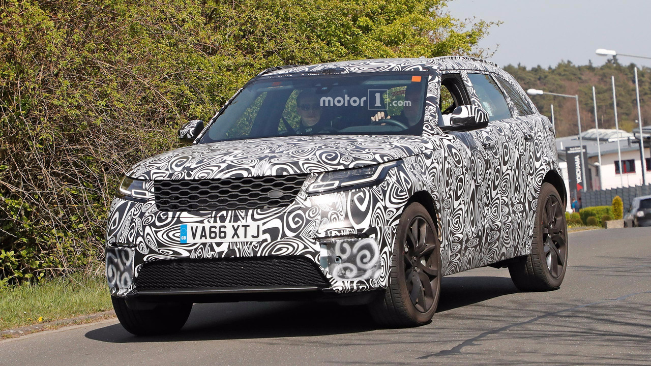Range Rover Velar SVR Prototype Back For Encore At Nurburgring