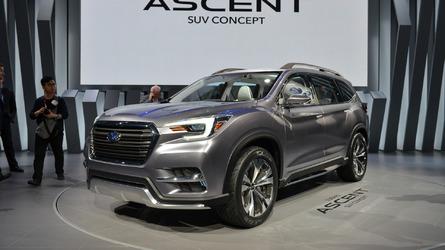 Subaru Ascent, New York'a neredeyse üretime hazır olarak geldi