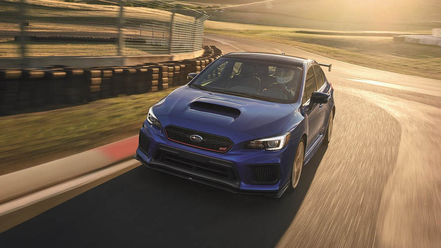 2018 Subaru WRX STI Type RA Adds Power, Loses Weight
