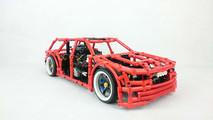 Custom Lego drift wagon