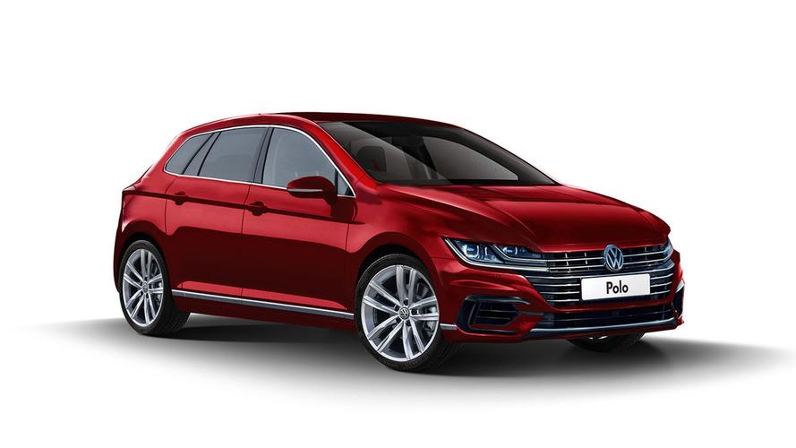 Render del Volkswagen Polo 2017: el pequeño Arteon