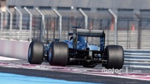 Pascal Wehrlein, Mercedes AMG F1 W06 Hybrid with 2017 Pirelli tires
