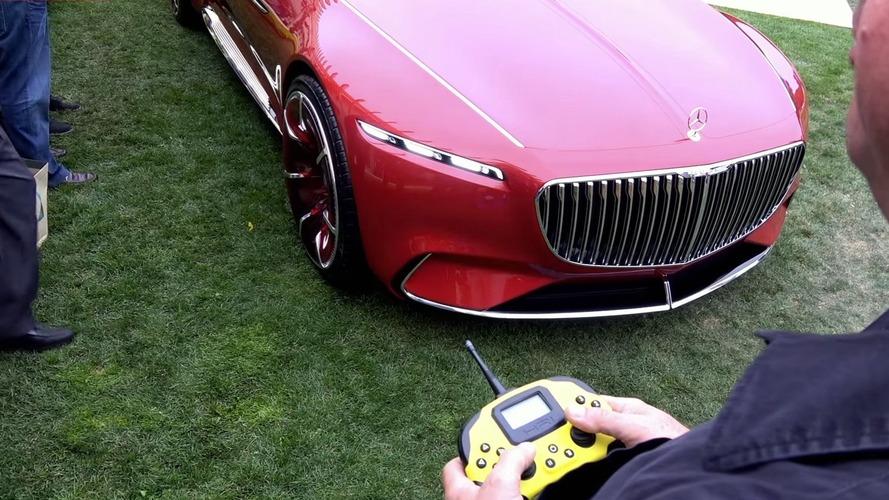 Mercedes-Maybach Vision 6 kumanda ile sürülüyor