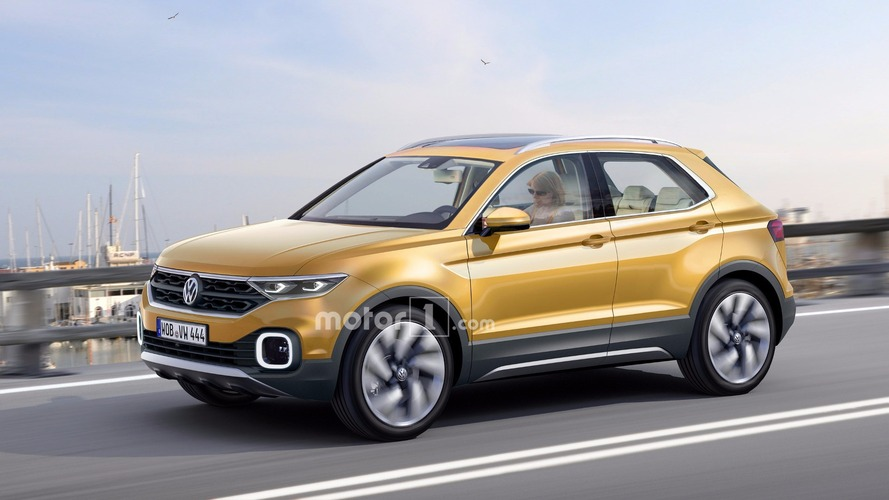 Upcoming VW Polo SUV rendered and caught on video