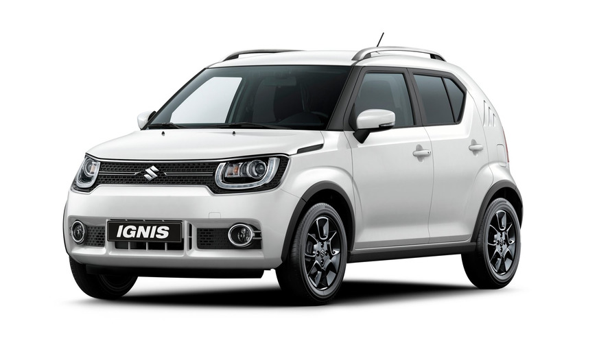 New Suzuki Ignis crossover set to debut in Paris