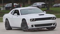Dodge Challenger ADR Spy Pics