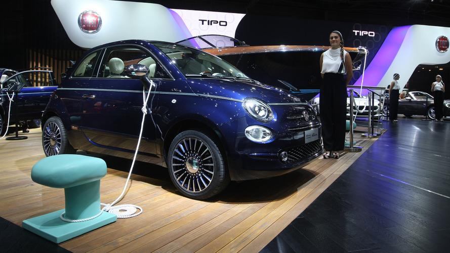 """Fiat 500 Riva """"Tender to Paris"""" versiyonu şehrin ışıklarında tanıtıldı"""
