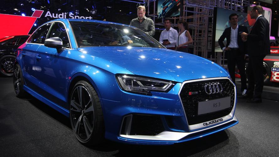 2017 Audi RS3 Sedan Paris Motor Show