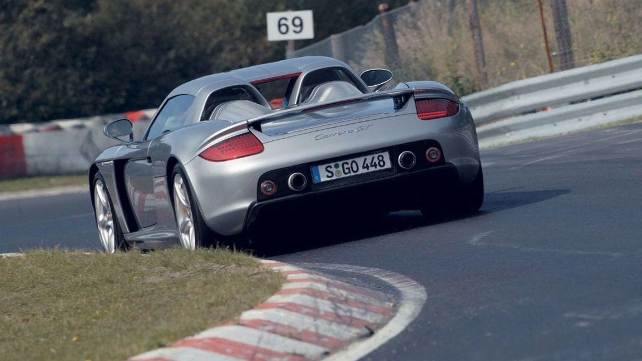 Porsche Carrera GT on Nürburgring