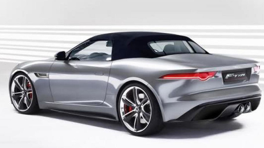 2014 Jag F-Type specutively rendered