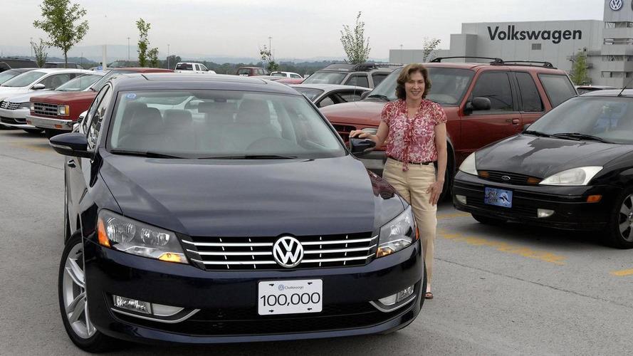 Volkswagen builds 100,000th Passat in U.S.