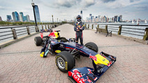 David Coulthard, Red Bull Show Run, Jersey City, NJ, 14.08.2012