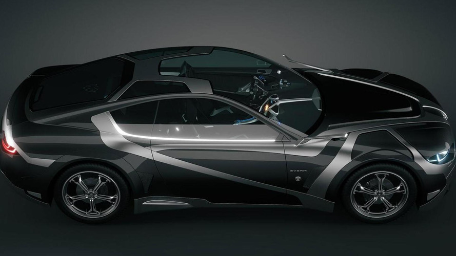 Everia Concept revealed by a French graphic design studio