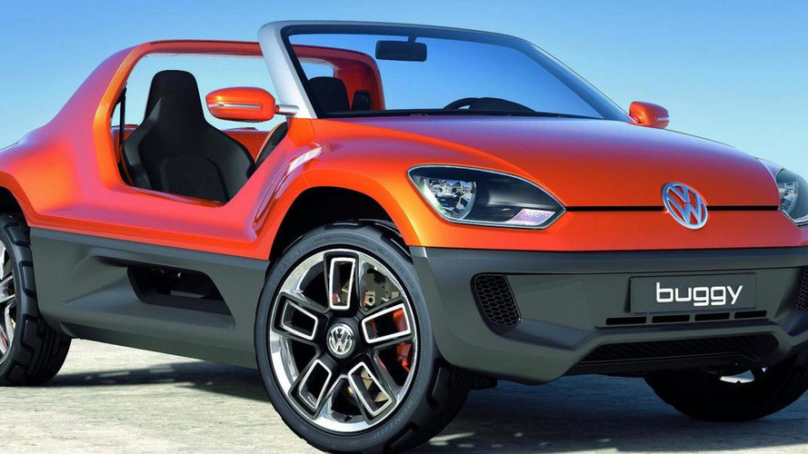 Volkswagen Buggy Up! concept surpise reveal in Frankfurt
