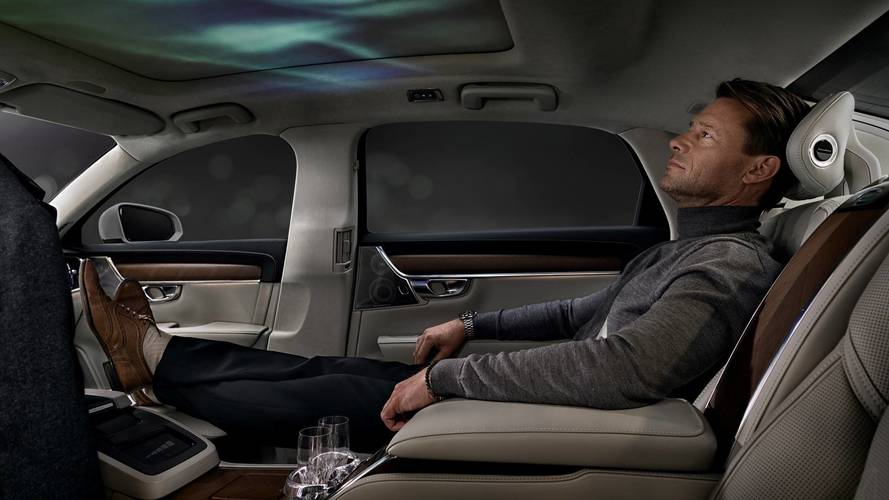 Volvo S90 Ambience Concept Is A Three-Seater Luxury Cocoon