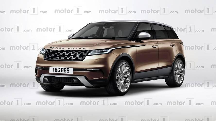 Range Rover Evoque 2019: el render que anticipa su aspecto