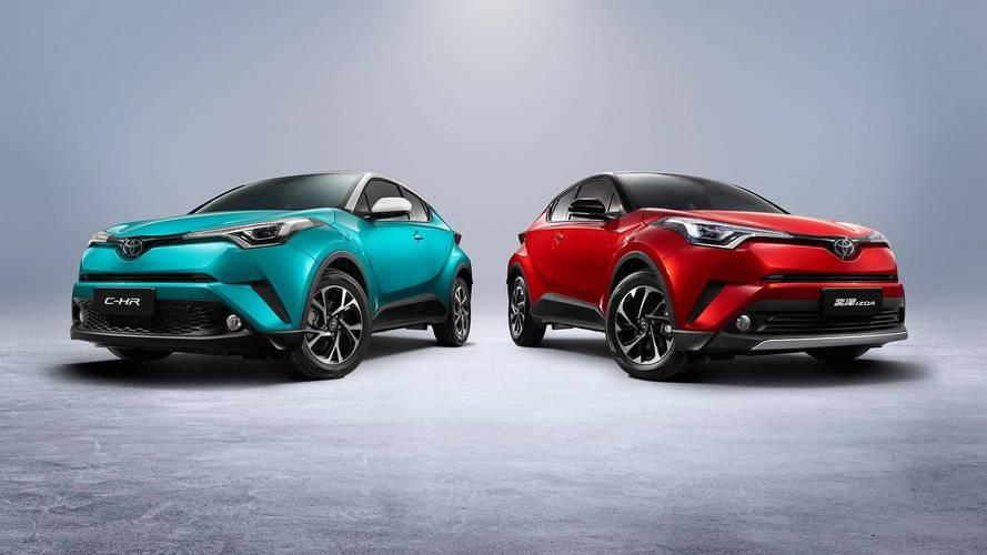 Toyota prepara 10 nuovi modelli elettrificati, solo per la Cina
