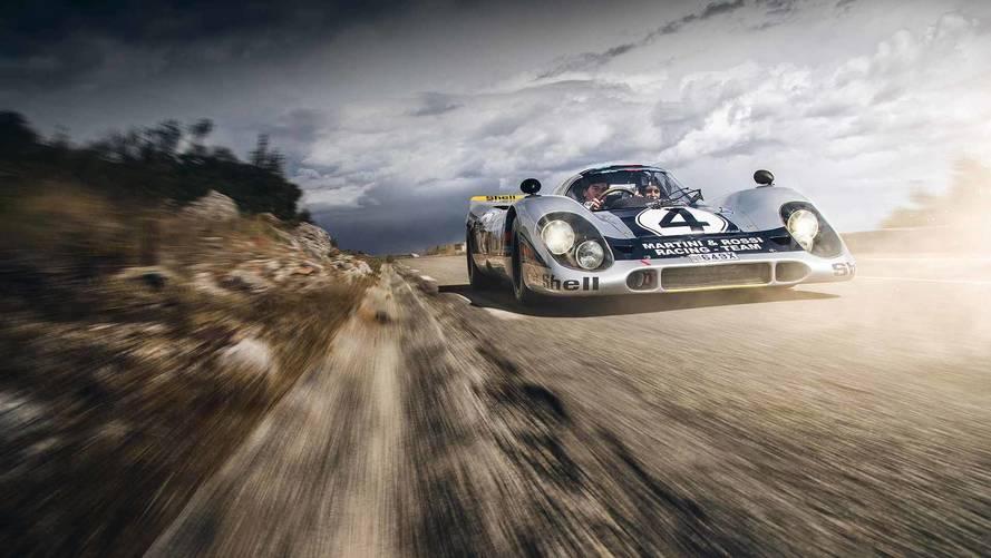 Porsche 917 homologuée route.