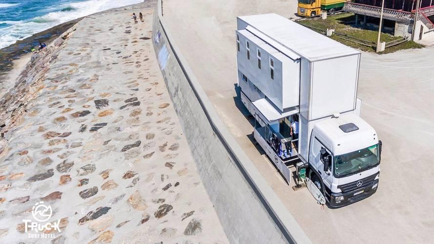 Mercedes Actros – Truck Surf Hotel